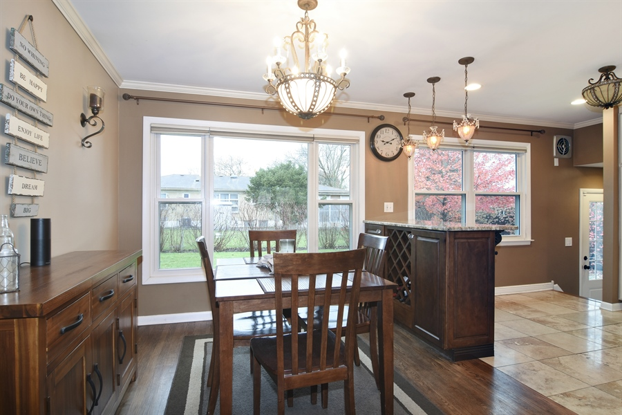 Real Estate Photography - 1327 E. Norman Drive, Palatine, IL, 60074 - Dining Room