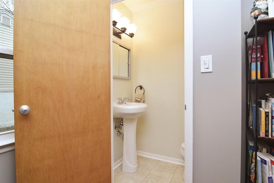 Real Estate Photography - 1327 E. Norman Drive, Palatine, IL, 60074 - Half Bath