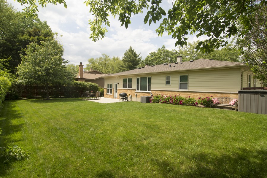 Real Estate Photography - 1327 E. Norman Drive, Palatine, IL, 60074 - Rear View