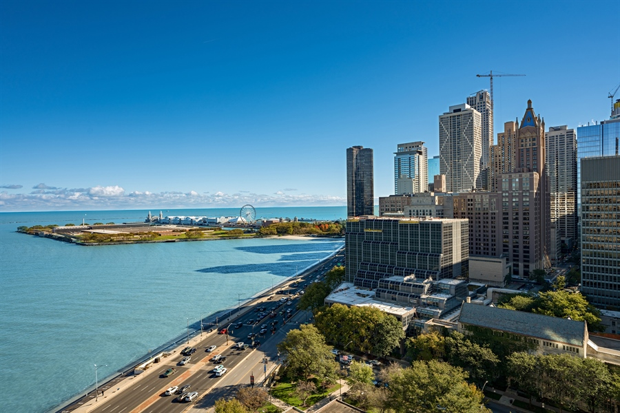 Real Estate Photography - 840 N. LAKE SHORE Drive, Unit 1803, Chicago, IL, 60611 - View