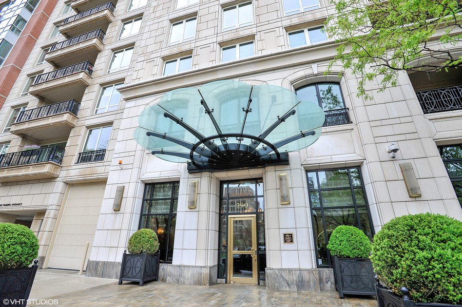 Real Estate Photography - 840 N. LAKE SHORE Drive, Unit 1803, Chicago, IL, 60611 - Front Entrance