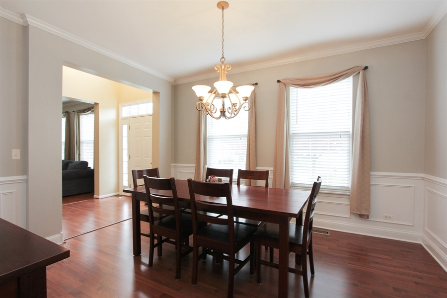 Real Estate Photography - 468 Mockingbird Court, Lindenhurst, IL, 60046 - Dining Room