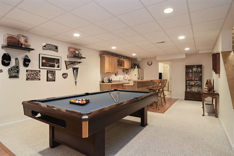 Real Estate Photography - 319 N Pondview Drive, Palatine, IL, 60067 - Lower Level