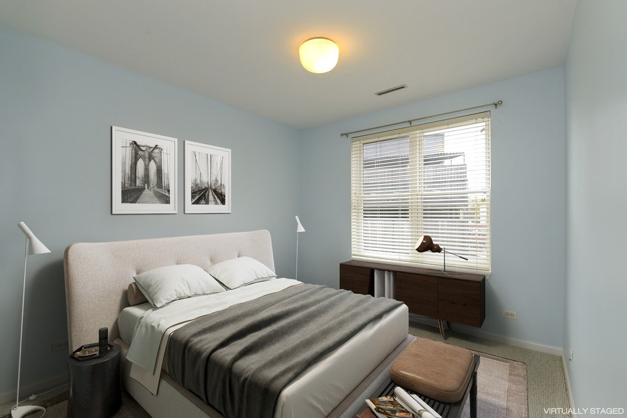 Real Estate Photography - 3516 N. SHEFFIELD Avenue, Unit 3RN, Chicago, IL, 60657 - 2nd Bedroom