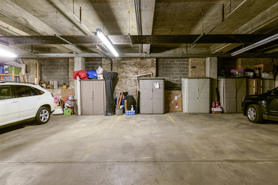 Real Estate Photography - 3516 N. SHEFFIELD Avenue, Unit 3RN, Chicago, IL, 60657 - Garage