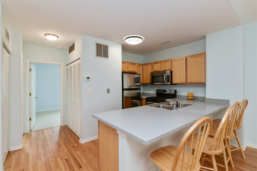 Real Estate Photography - 3516 N. SHEFFIELD Avenue, Unit 3RN, Chicago, IL, 60657 - Kitchen