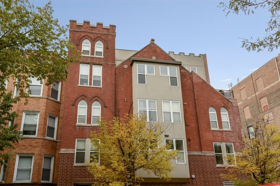 Real Estate Photography - 3516 N. SHEFFIELD Avenue, Unit 3RN, Chicago, IL, 60657 - Front View
