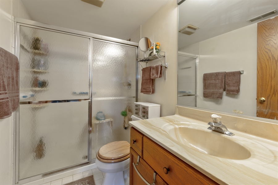 Real Estate Photography - 1227 Brown Street, Unit 304, Des Plaines, IL, 60016 - Master Bathroom