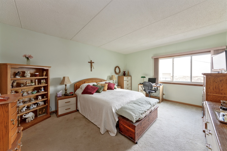 Real Estate Photography - 1227 Brown Street, Unit 304, Des Plaines, IL, 60016 - Master Bedroom