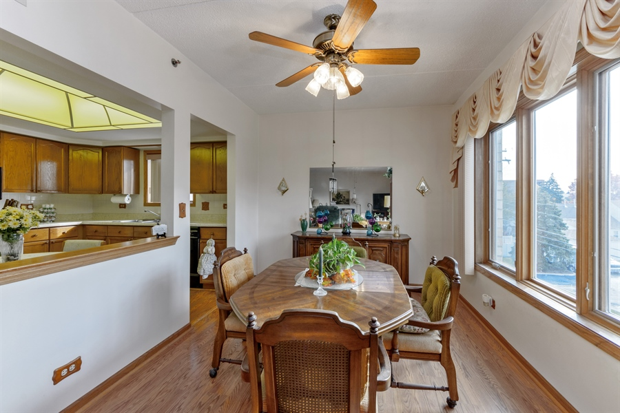 Real Estate Photography - 1227 Brown Street, Unit 304, Des Plaines, IL, 60016 - Dining Room