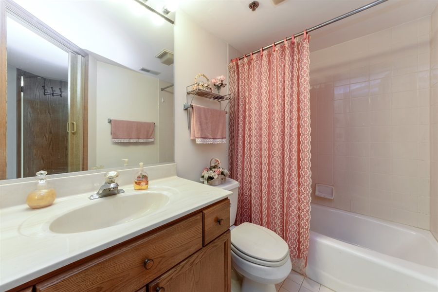 Real Estate Photography - 1227 Brown Street, Unit 304, Des Plaines, IL, 60016 - 2nd Bathroom