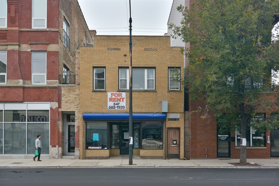 Real Estate Photography - 1530 West Chicago Ave, Chicago, IL, 60647 - Front View