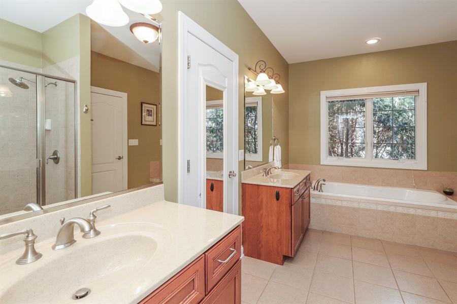 Real Estate Photography - 824 Wedgewood Court, Lindenhurst, IL, 60046 - Master Bathroom