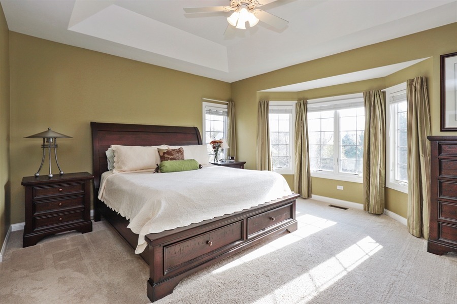 Real Estate Photography - 824 Wedgewood Court, Lindenhurst, IL, 60046 - Master Bedroom