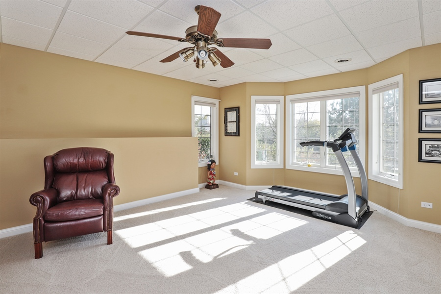 Real Estate Photography - 824 Wedgewood Court, Lindenhurst, IL, 60046 - 4th Bedroom