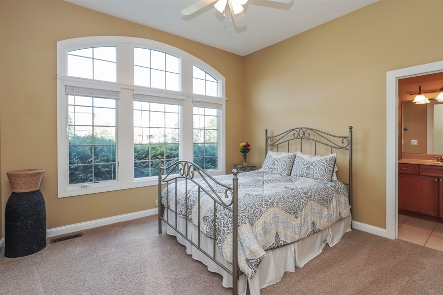 Real Estate Photography - 824 Wedgewood Court, Lindenhurst, IL, 60046 - Bedroom