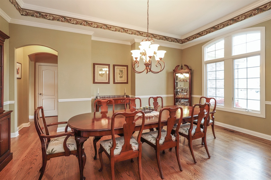 Real Estate Photography - 824 Wedgewood Court, Lindenhurst, IL, 60046 - Dining Room