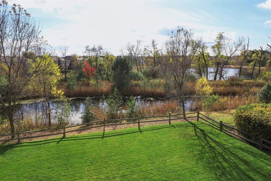 Real Estate Photography - 824 Wedgewood Court, Lindenhurst, IL, 60046 - Back Yard