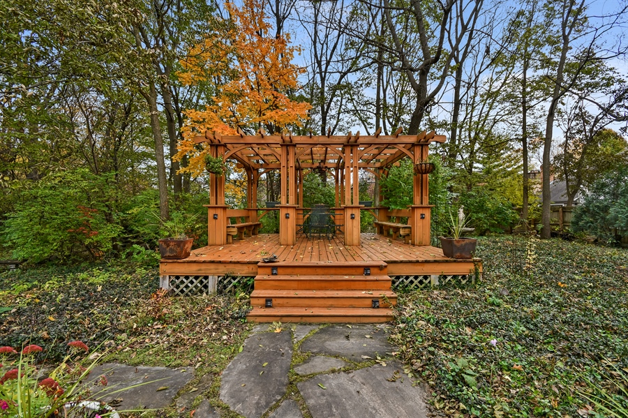Real Estate Photography - 1528 N. Loomis Street, Naperville, IL, 60563 - Gazebo