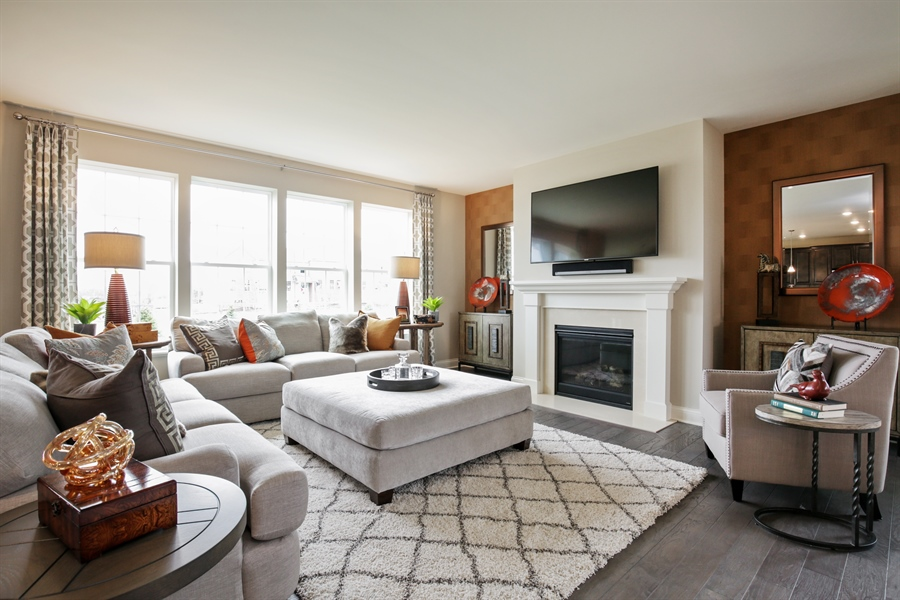 Real Estate Photography - 1015 Mayhaw Drive, Crystal Lake, IL, 60012 - Living Room