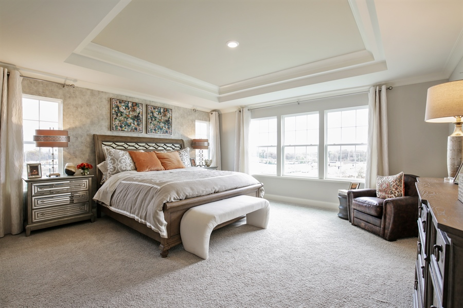 Real Estate Photography - 1015 Mayhaw Drive, Crystal Lake, IL, 60012 - Master Bedroom