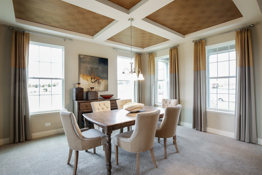 Real Estate Photography - 1015 Mayhaw Drive, Crystal Lake, IL, 60012 - Dining Room