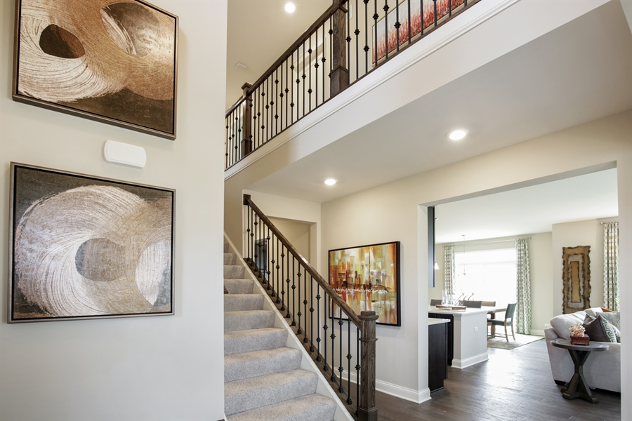 Real Estate Photography - 1015 Mayhaw Drive, Crystal Lake, IL, 60012 - Foyer