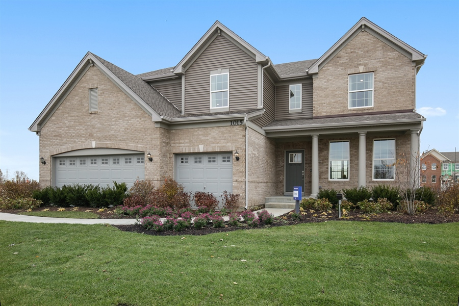 Real Estate Photography - 1015 Mayhaw Drive, Crystal Lake, IL, 60012 - Front View