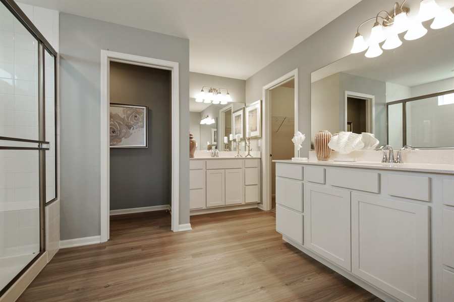 Real Estate Photography - 1021 Mayhaw Drive, Crystal Lake, IL, 60012 - Master Bathroom