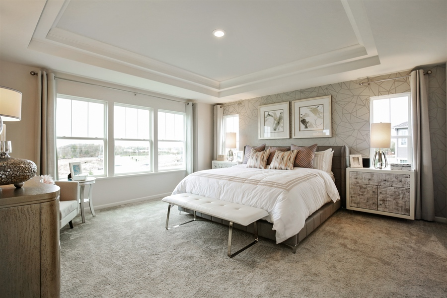 Real Estate Photography - 1021 Mayhaw Drive, Crystal Lake, IL, 60012 - Master Bedroom