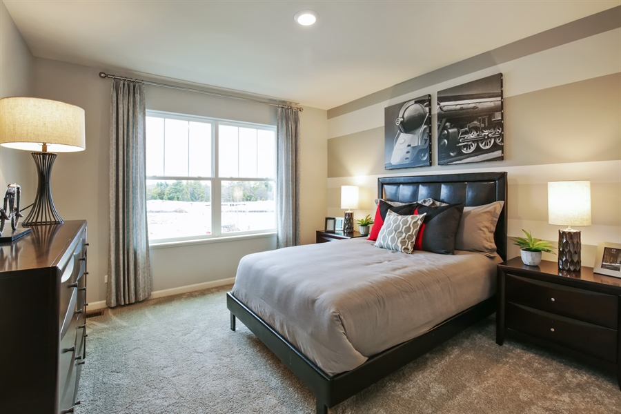 Real Estate Photography - 1021 Mayhaw Drive, Crystal Lake, IL, 60012 - 3rd Bedroom