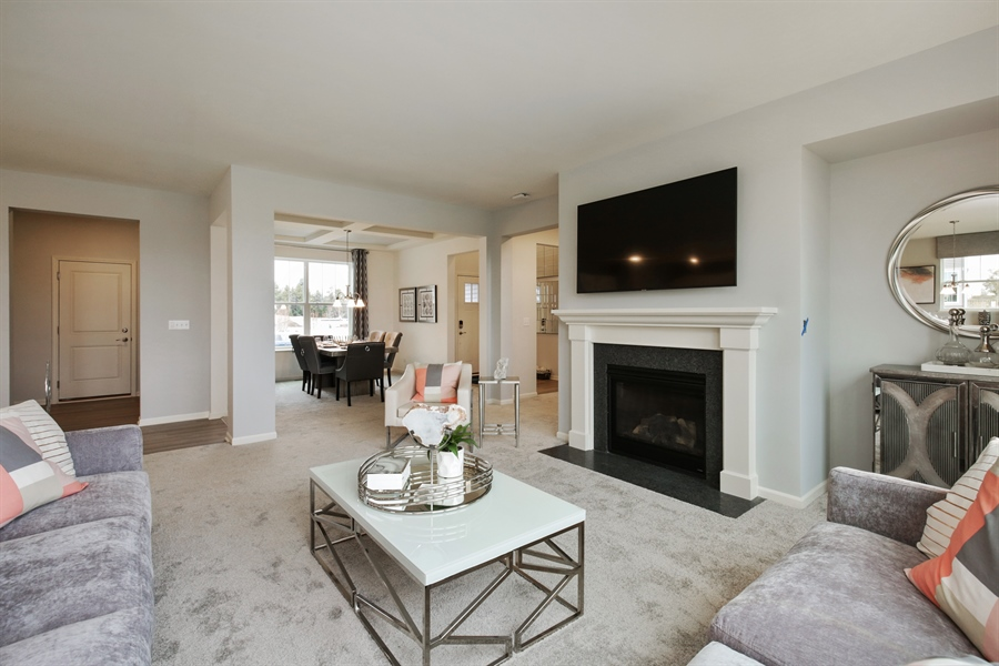 Real Estate Photography - 1021 Mayhaw Drive, Crystal Lake, IL, 60012 - Family Room