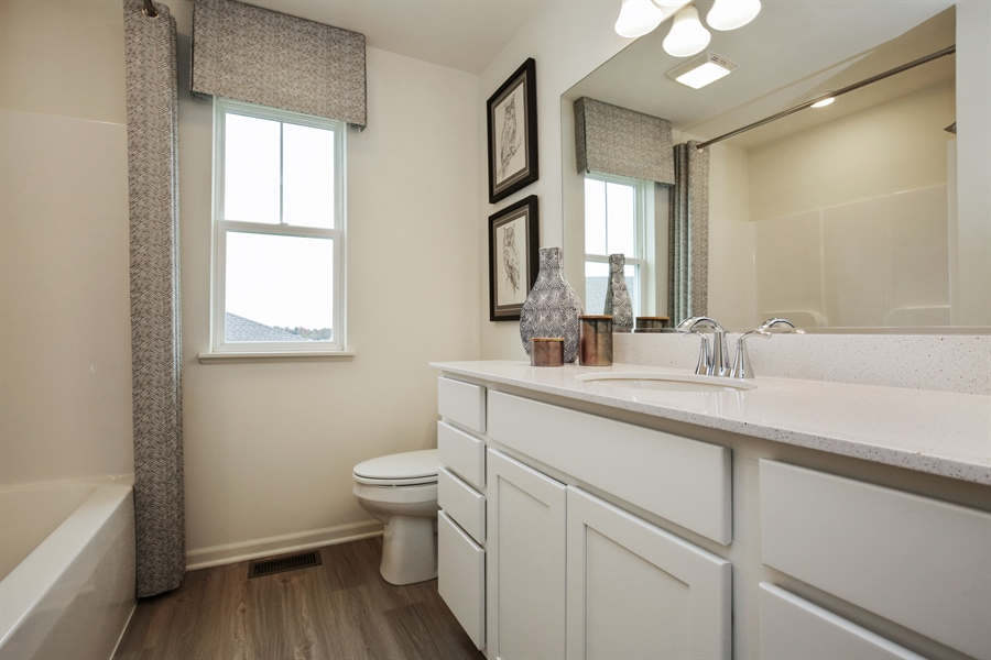 Real Estate Photography - 1021 Mayhaw Drive, Crystal Lake, IL, 60012 - Bathroom