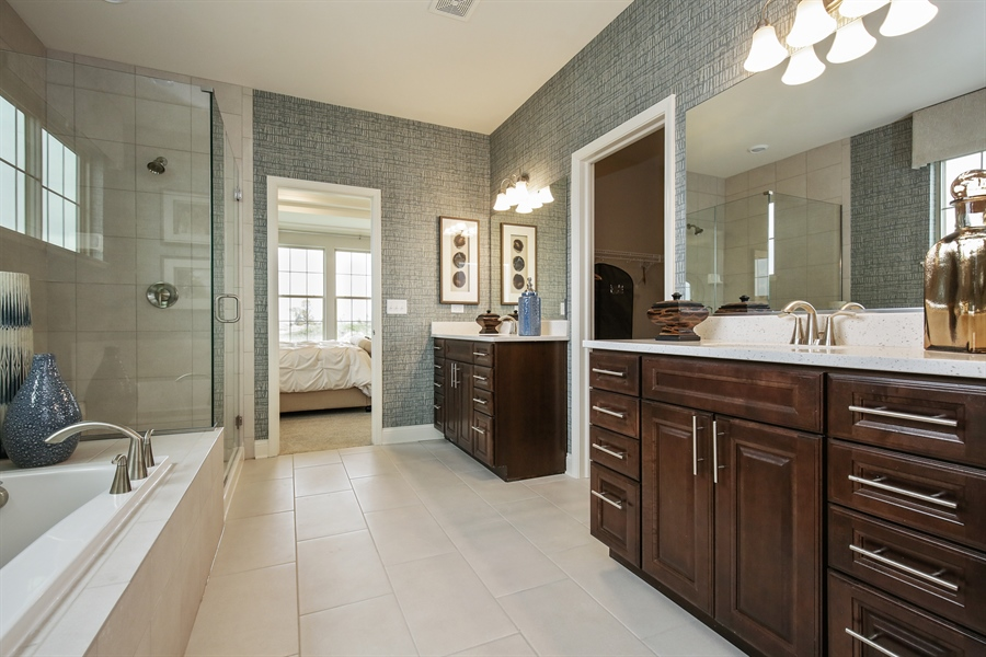 Real Estate Photography - 1027 Mayhaw Drive, Crystal Lake, IL, 60012 - Master Bathroom