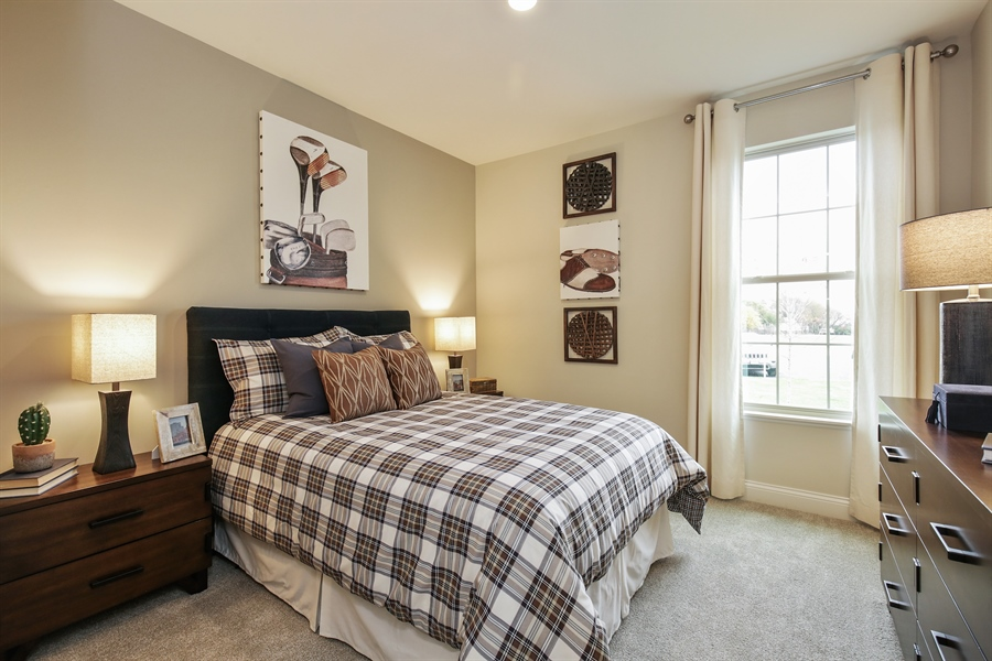 Real Estate Photography - 1027 Mayhaw Drive, Crystal Lake, IL, 60012 - 3rd Bedroom