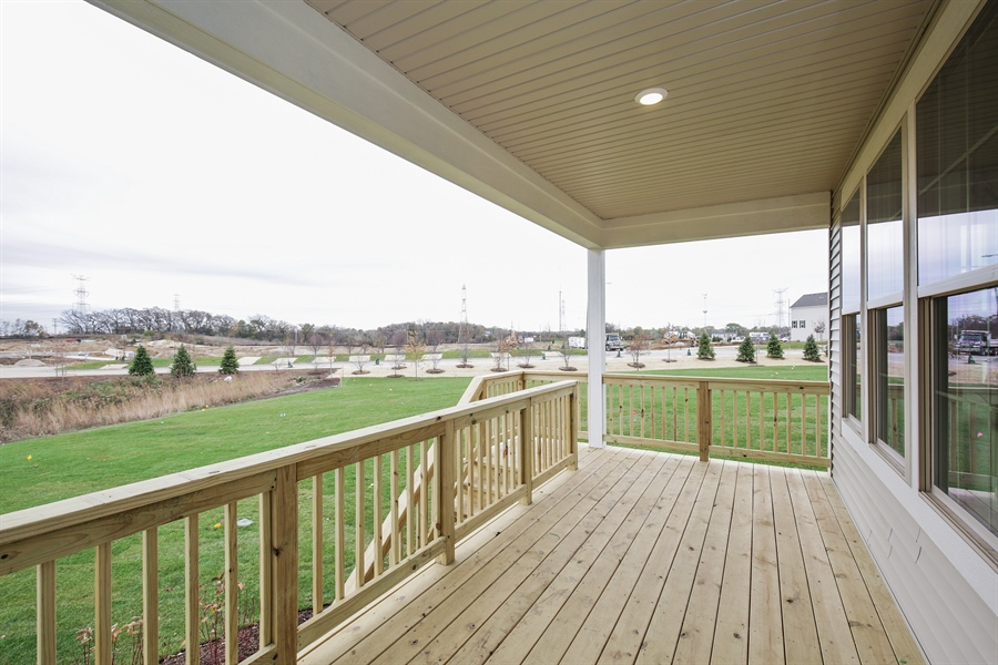 Real Estate Photography - 1027 Mayhaw Drive, Crystal Lake, IL, 60012 - Deck