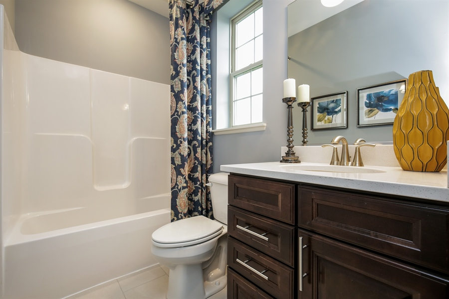 Real Estate Photography - 1027 Mayhaw Drive, Crystal Lake, IL, 60012 - Bathroom