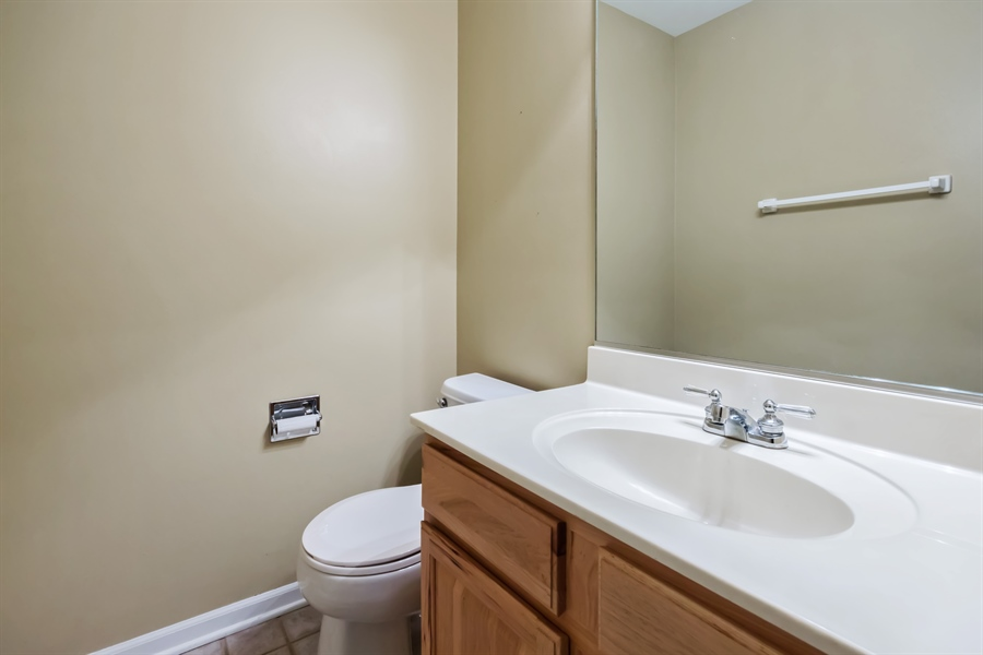 Real Estate Photography - 2936 ANDRUS Drive, West Chicago, IL, 60185 - Powder Room