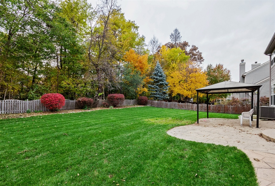Real Estate Photography - 2936 ANDRUS Drive, West Chicago, IL, 60185 - Back Yard