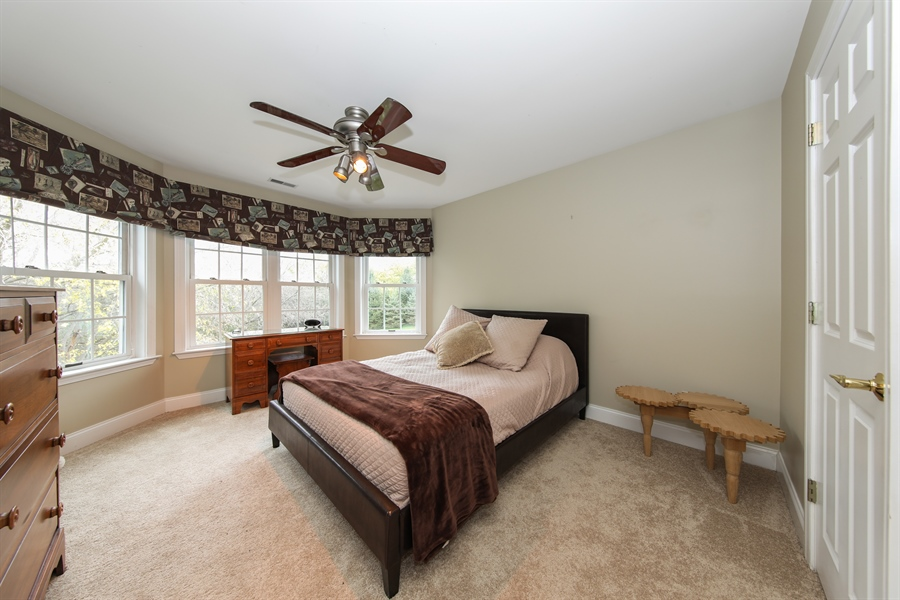 Real Estate Photography - 25603 N. warwick Road, Tower Lakes, IL, 60010 - 3rd Bedroom