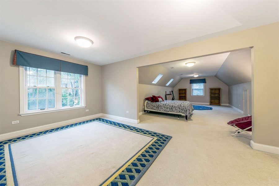 Real Estate Photography - 25603 N. warwick Road, Tower Lakes, IL, 60010 - 5th Bedroom