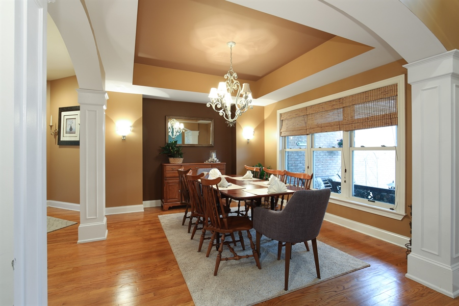 Real Estate Photography - 25603 N. warwick Road, Tower Lakes, IL, 60010 - Dining Room