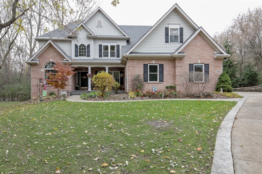 Real Estate Photography - 25603 N. warwick Road, Tower Lakes, IL, 60010 - Front View