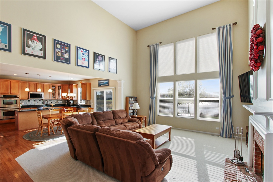 Real Estate Photography - 1167 Blue Heron Circle, Antioch, IL, 60002 - Family Room