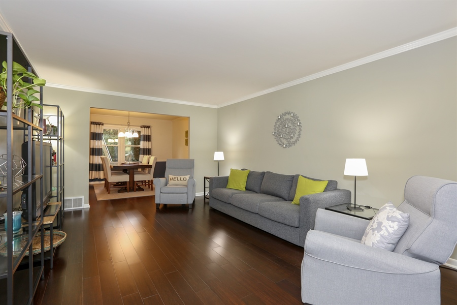 Real Estate Photography - 25W137 Jane Avenue, Naperville, IL, 60540 - Living Room