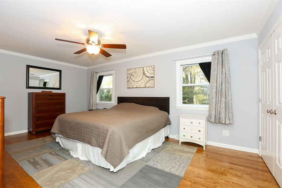 Real Estate Photography - 25W137 Jane Avenue, Naperville, IL, 60540 - Master Bedroom