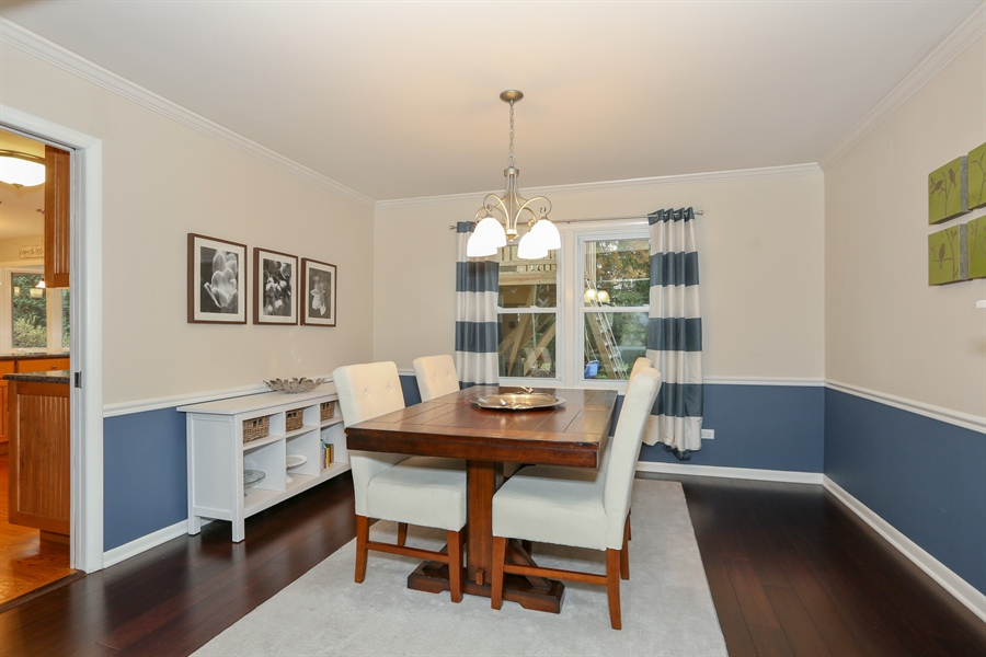 Real Estate Photography - 25W137 Jane Avenue, Naperville, IL, 60540 - Dining Area