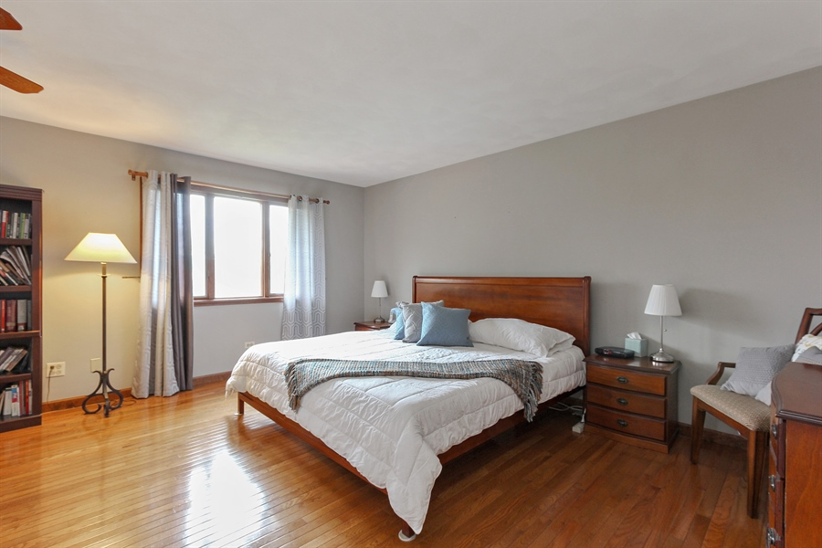 Real Estate Photography - 14465 Dan Patch Lane, Libertyville, IL, 60048 - Master Bedroom