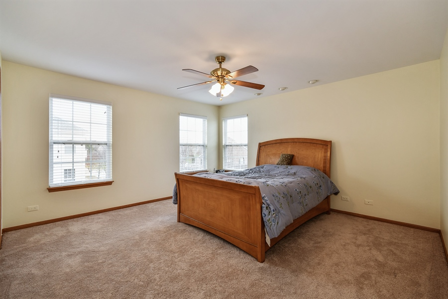 Real Estate Photography - 751 Pheasant Trail, Unit 751, St. Charles, IL, 60174 - Master Bedroom
