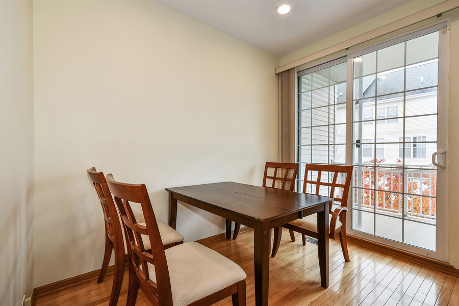 Real Estate Photography - 751 Pheasant Trail, Unit 751, St. Charles, IL, 60174 - Dining Room